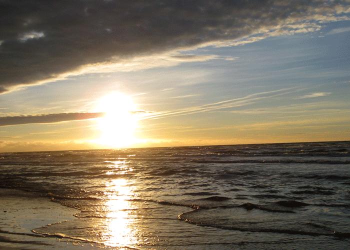 Blokhus Danmark –strand, Din Golf Reise
