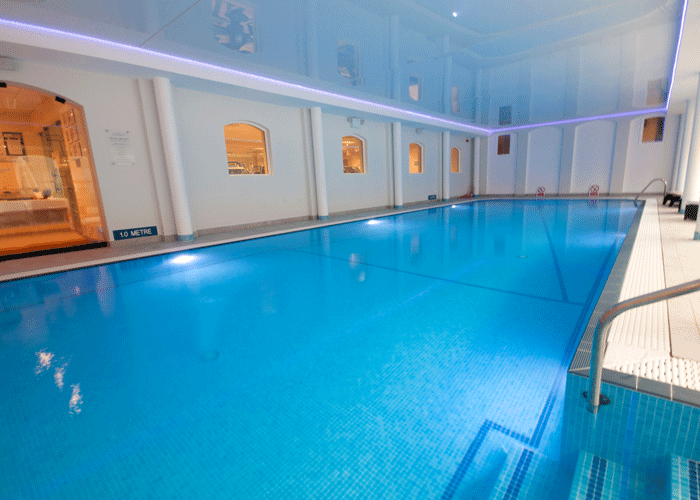 Svømmebasseng, Cottesmore Hotel, Golfturer med Din Golf Reise