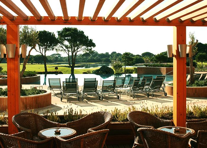 Hotel Quinta da Marinha Resort uteområde