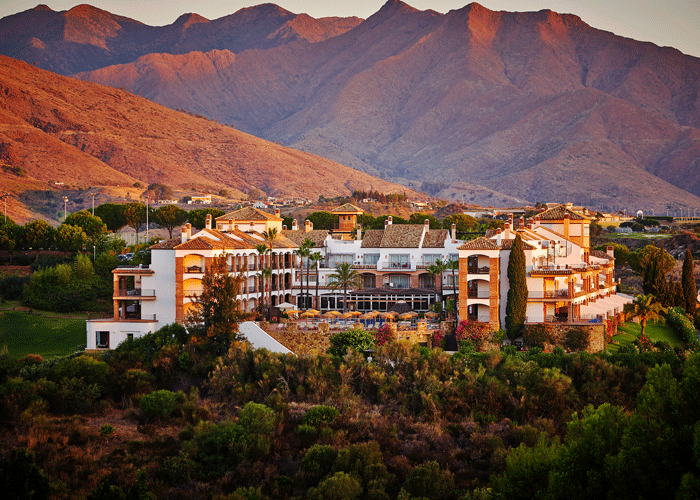 Din Golfreise destinasjon: Hotel La Cala i Malaga - utsikt
