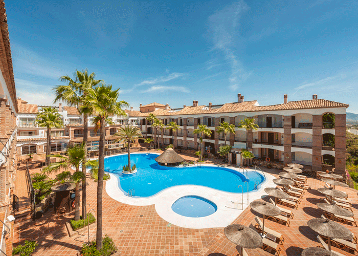 Din Golfreise destinasjon: Hotel La Cala i Malaga - svømmebasseng