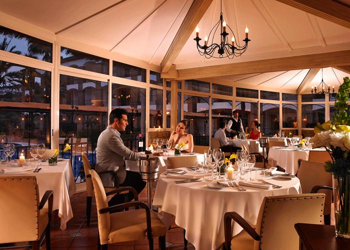 Din Golfreise destinasjon: Hotel La Cala i Malaga - restaurant