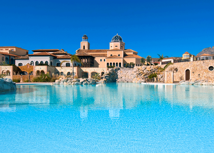 Din Golfreise destinasjon: Hotel Melia Villaitana, Benidorm, Alicante – basseng