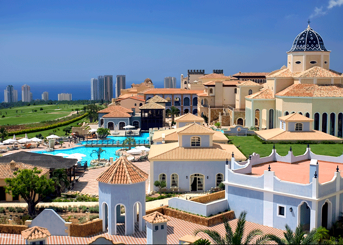 Din Golfreise destinasjon: Hotel Melia Villaitana, Benidorm, Alicante