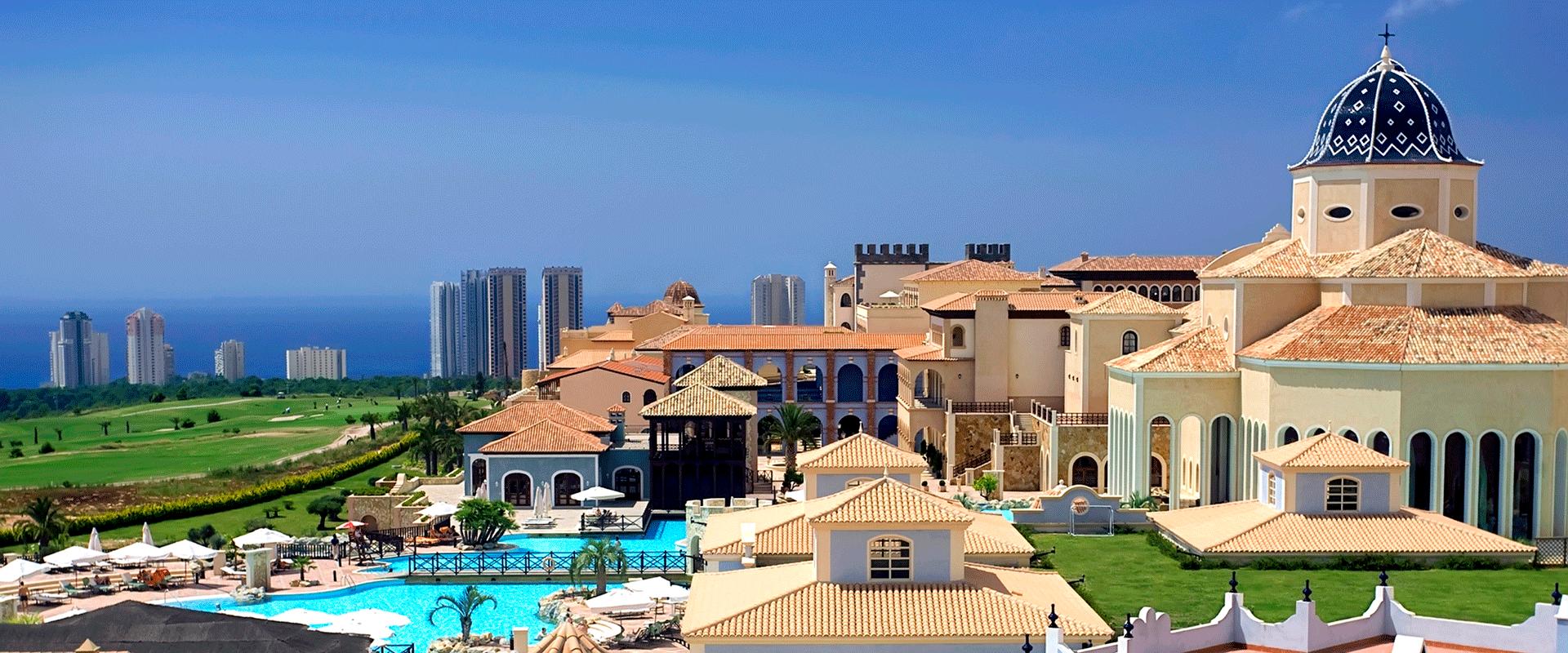Din Golfreise Hotel Melia Villaitana i Benidorm, Spania - utsikt
